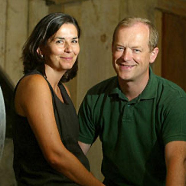 Ingrid et Michael Hallek Propriétaires de Château Le Pin Beausoleil