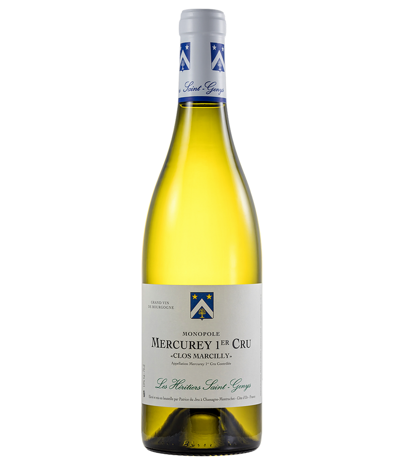 Les Héritiers Saint Genys Mercurey 1er Cru Clos Marcilly blanc