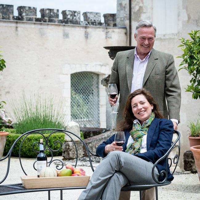 Karl Friedrich et Christine Scheufele, Propriétaire de Château Monestier La Tour