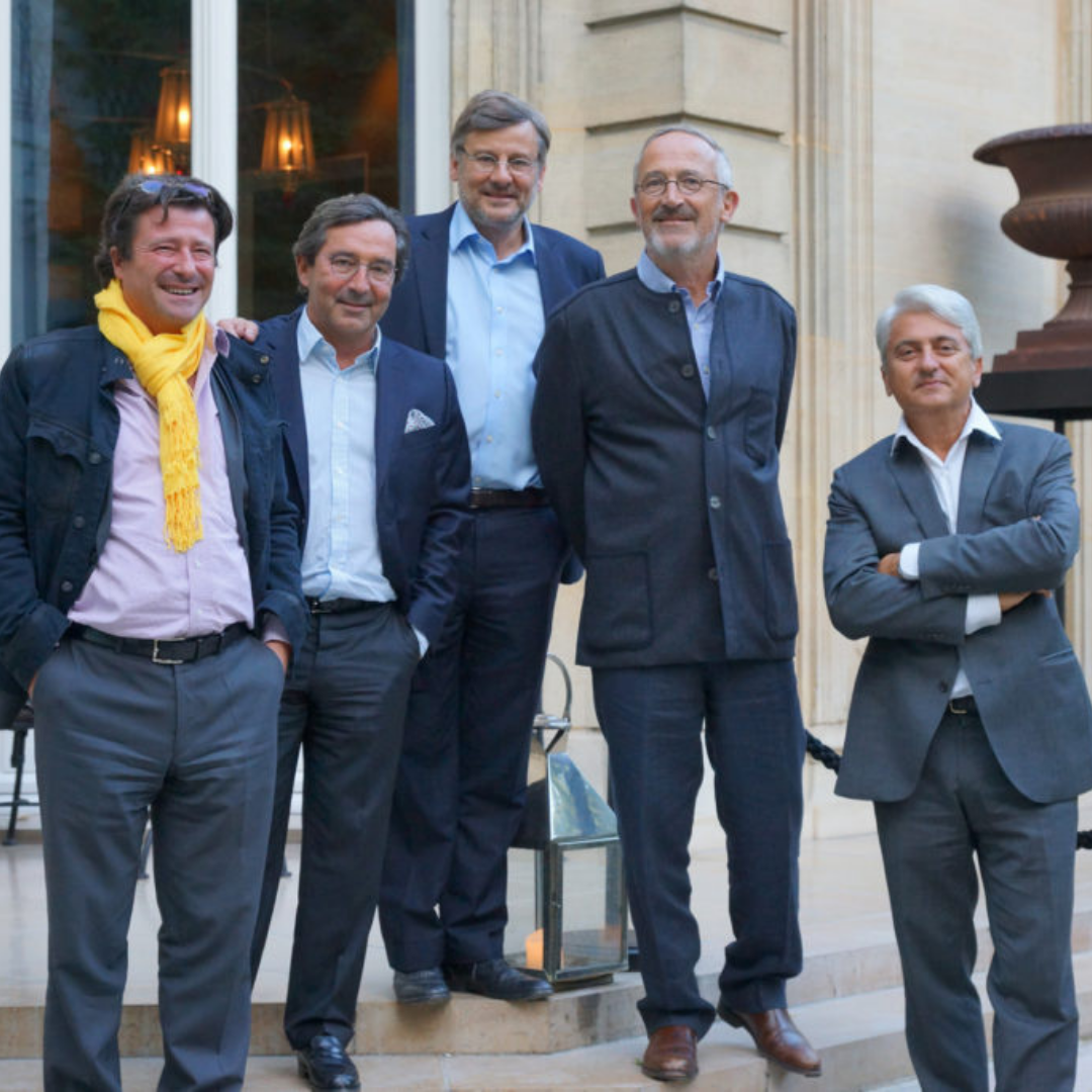 Les 5 amis du Château L'Insouciance